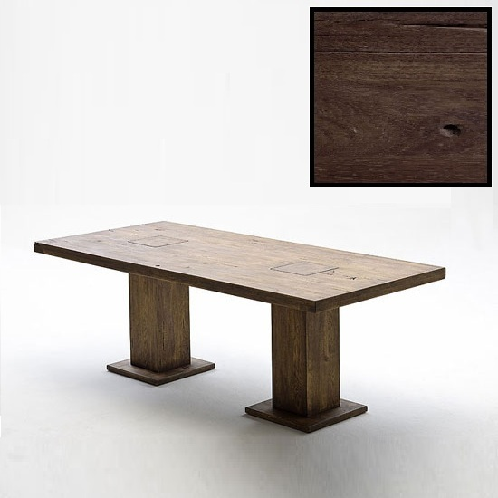 Mancinni 260cm Wooden Pedestal Dining Table_4