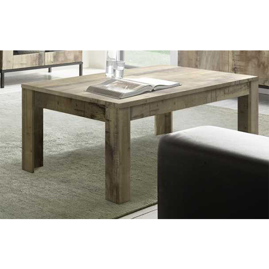Manvos Wooden Coffee Table In Pero