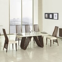 Marble Dining Room Table And 6 Chairs Sets online