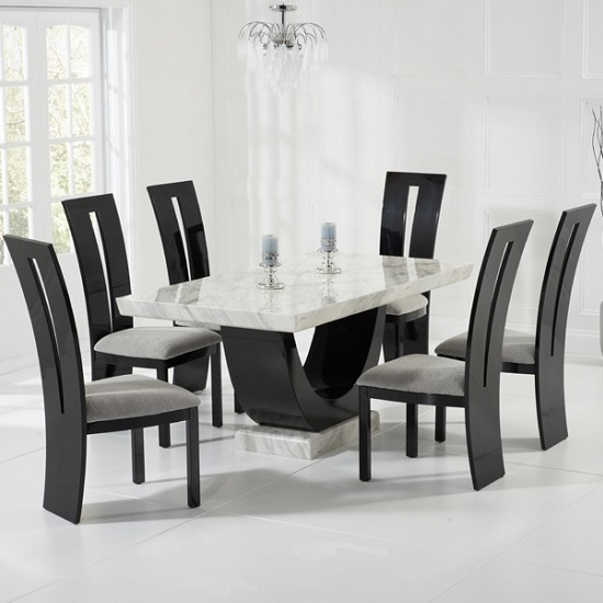 Marble Dining Table And Chairs UK | Furniture in Fashion