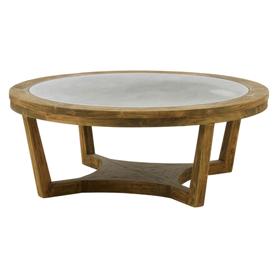 Mardeka Wooden Coffee Table In Natural