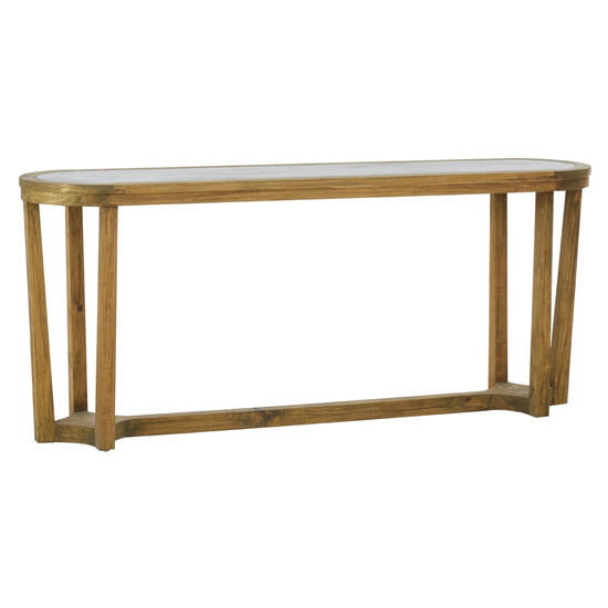 Mardeka Wooden Console Table In Natural