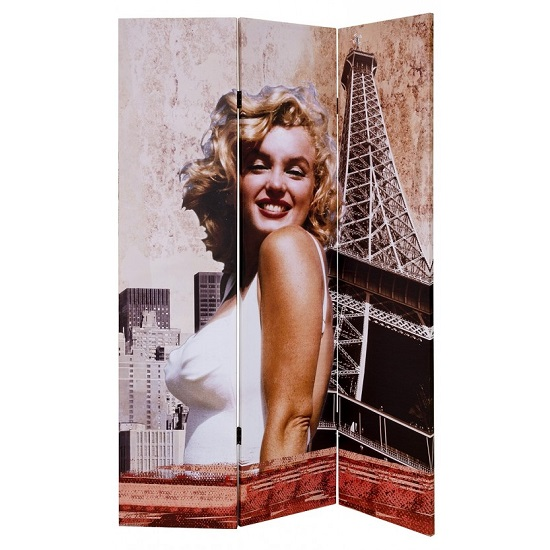Marilyn Monroe Double Sided Room Divider