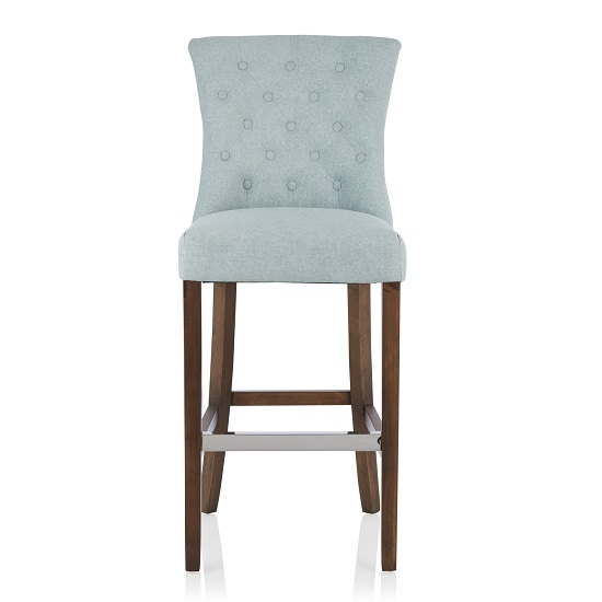 Leoni Bar Stools In Charcoal Grey Faux Leather In A Pair
