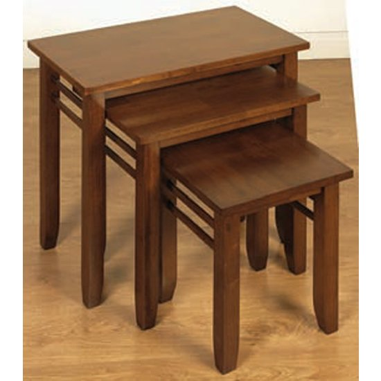 Marsic Set Of 3 Nesting Tables In Dark