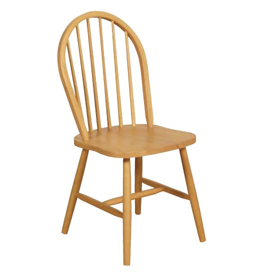 Marsic Spindleback Dining Chair In Light Oak