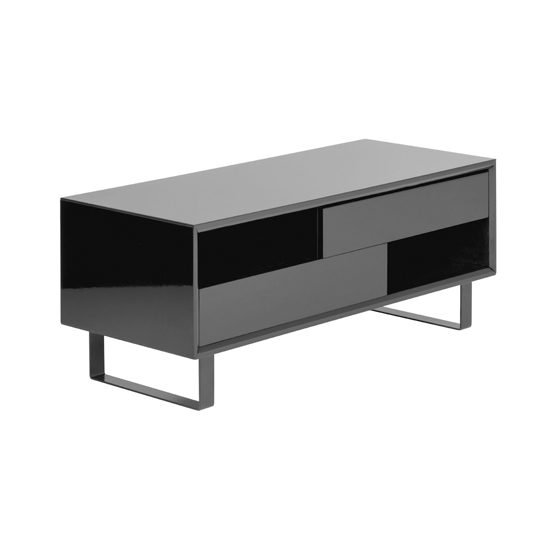 Martos Wooden High Gloss Coffee Table In Black_1
