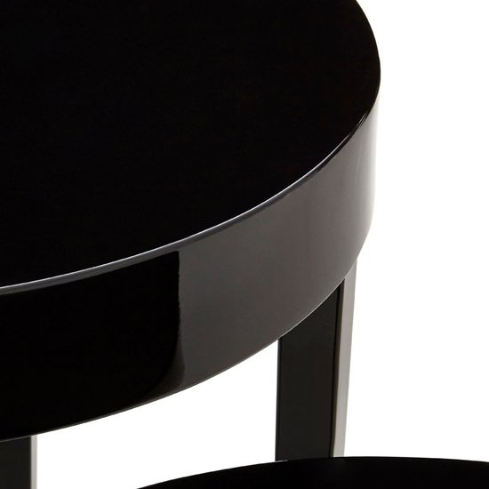 Martos Wooden High Gloss Nest Of 3 Tables In Black_2