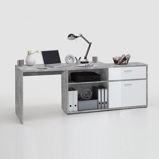 Mattia Corner Computer Desk In White Gloss And Light Atelier_3