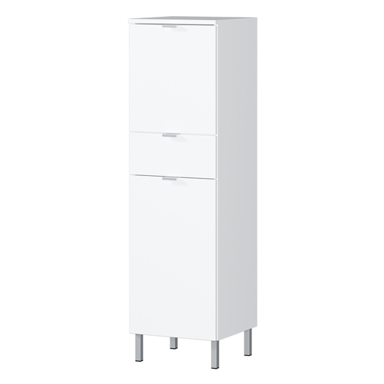 Mauresa Storage Cabinet In White High Gloss