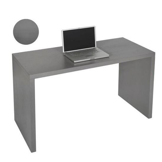 Photo of Maxim computer desk rectangular in grey veneer