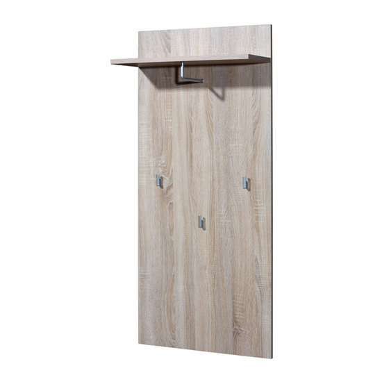 Maxima Coat Rack Panel In Sonoma Oak