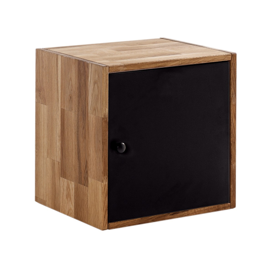 Maximo Storage Cube With Door In In Oak