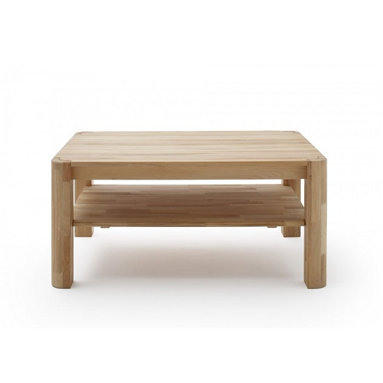 Maxine Wooden Coffee Table Rectangular In Knotty Oak Furniture