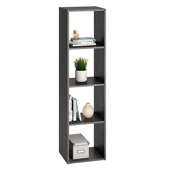 McAllen Wooden Display Stand In Matera With 4 Compartments_1