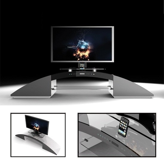 media tv stand 6030 11 - Ideas On Choosing TV Stand For Xbox Kinect And Making The Device A Stylish Part Of Your Room