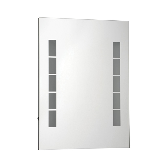Melona Large Wall Batroom Mirror With LED Lights