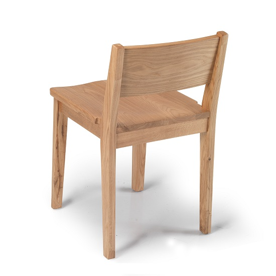 Melton Wooden Dining Chair In Natural Oak_2