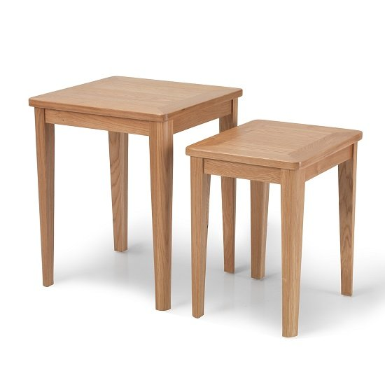 Melton Wooden Nest Of Tables In Natural Oak_2