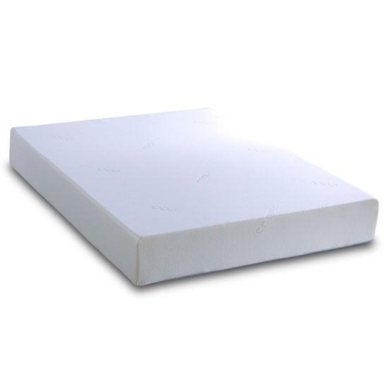 View Memory 8000 memory foam regular small double mattress