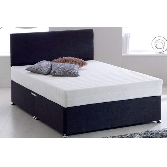 View Memory king memory foam firm super king size mattress
