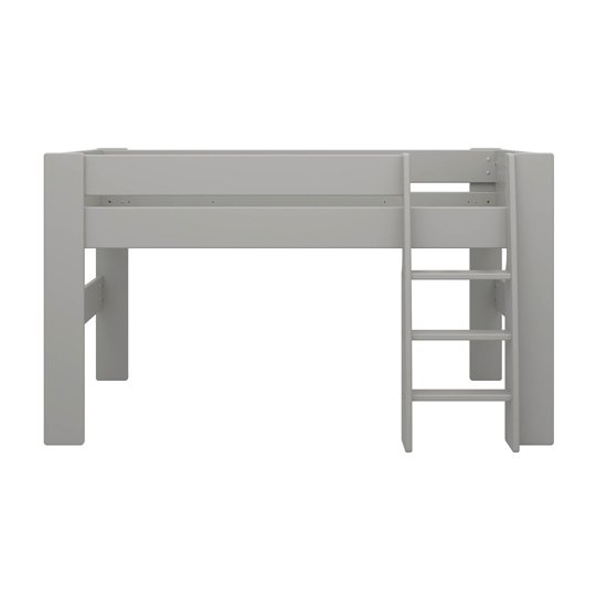 Memphis Wooden Mid Sleeper Childern Bed In Grey_3