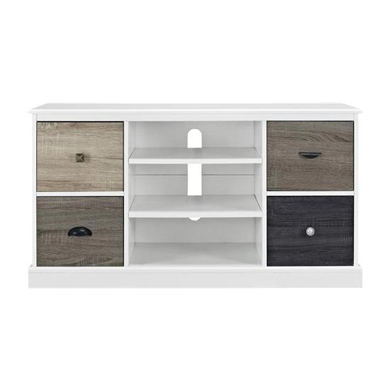 Mercer Wooden Small TV Stand In White_3