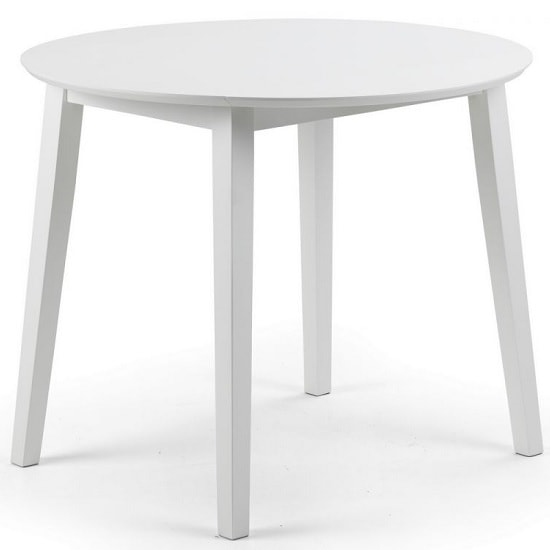 Meridian Extendable Dining Table In White_1