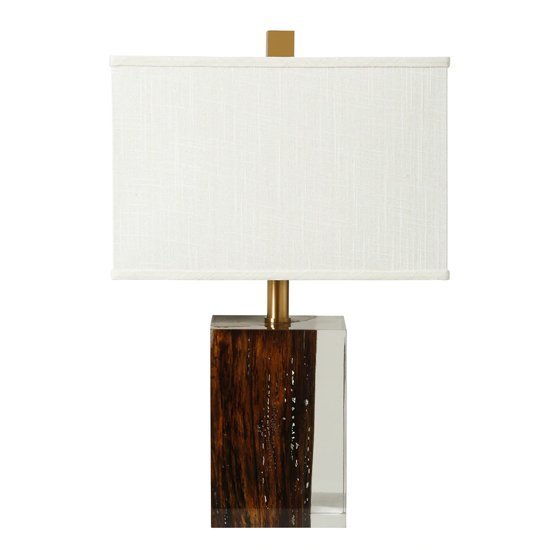Mia Table Lamp With Bronze Details
