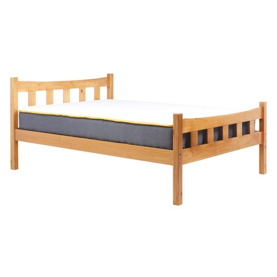 Miami Wooden Single Bed In Antique Pine_2