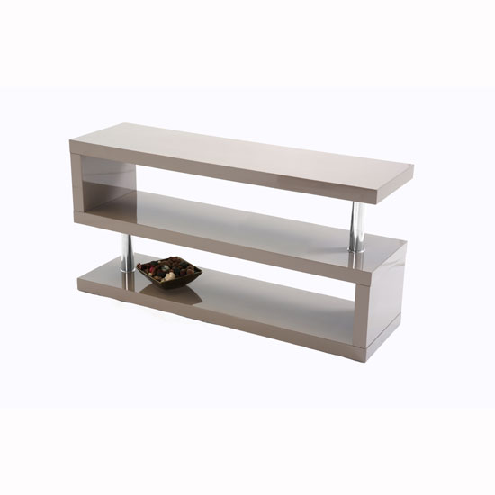 Miami TV Stand In Stone High Gloss