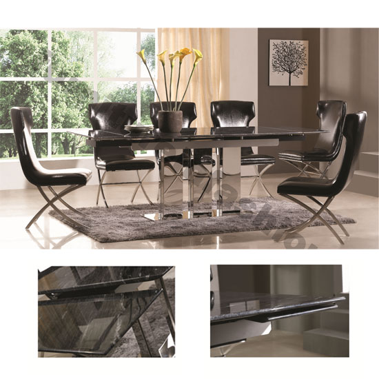 Marble Dining Table And Chairs Furniture In Fashion