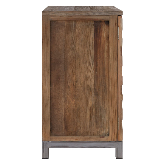 Micos Large Wooden 2 Doors Storage Cabinet In Natural Elm_3