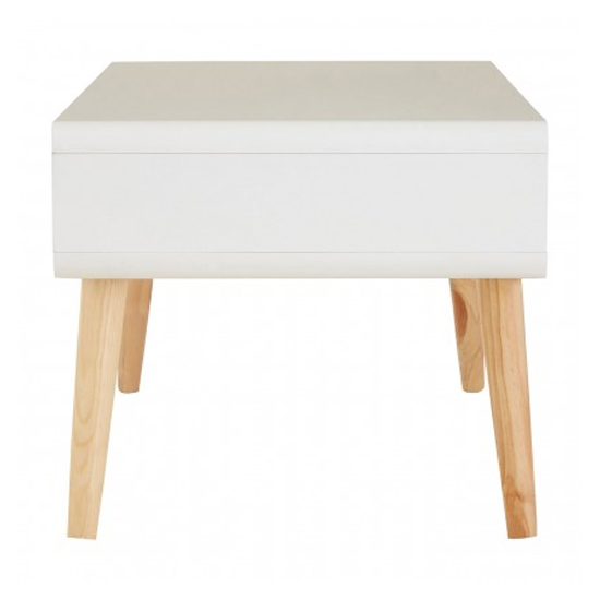 Milova Wooden 1 Drawer Coffee Table In White And Grey_4