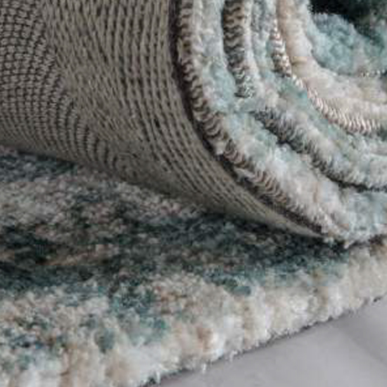 Minott Extra Large Fabric Upholstered Rug In Dark Teal_2