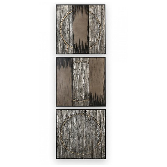 Miracle Painting Wooden Wall Art In Graphite