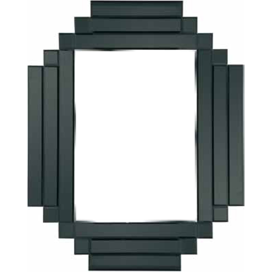 Unique Design Black Border Wall Mirror