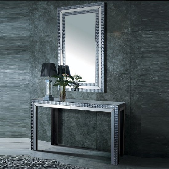 mirror with console 8065 1059 - How To Furnish A Den House: 5 Tips
