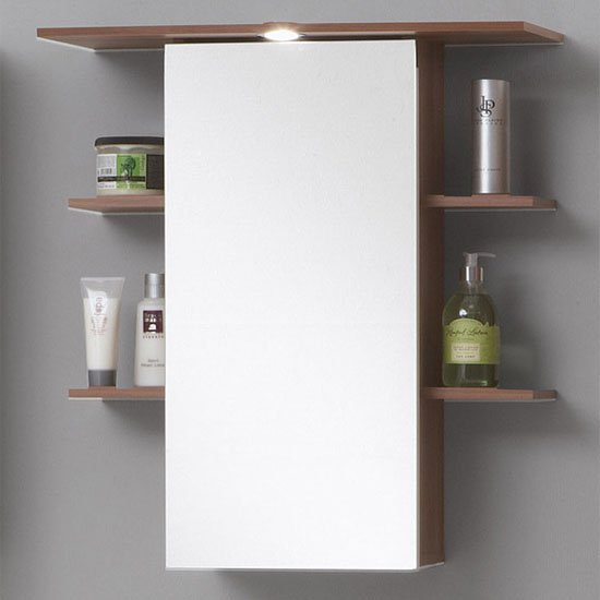 mirrored bathroom wall cabinet madrid 8 - New Bathroom Vanity Basins Offer Contemporary Style