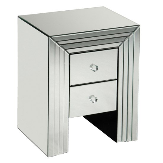 mirrored bedside table 2402013 - Bedside Cabinets Provide Convenient Storage
