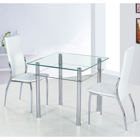 Buy cheap Square glass dining table compare Tables  : modern dining sets como PISA from super.priceinspector.co.uk size 550 x 550 jpeg 28kB