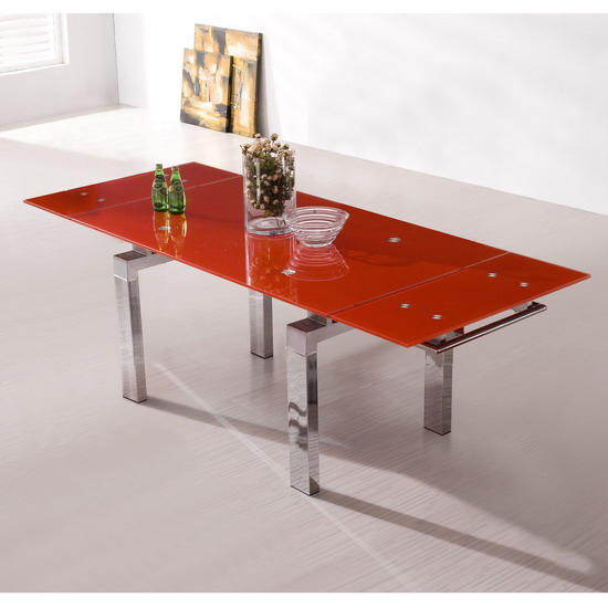 Contemporary glass dining table shop for cheap tables for Only dining table online