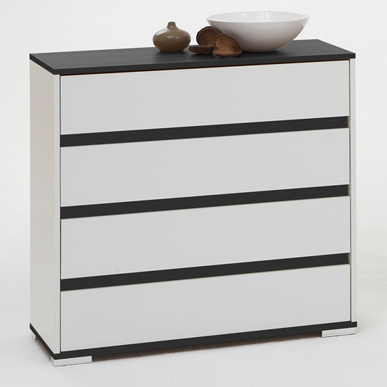 modern white black chest drawers - How To Decorate My Bedroom