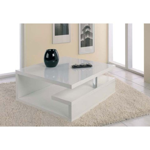 Geno Coffee table in High Gloss White, 86306