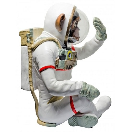 Monkey Astronaut Figurine See No Evil Resin Sculpture_2