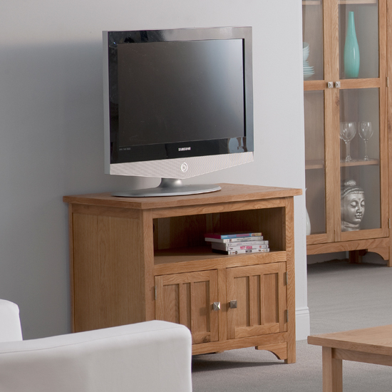 Montana Oak 2 Door TV Unit