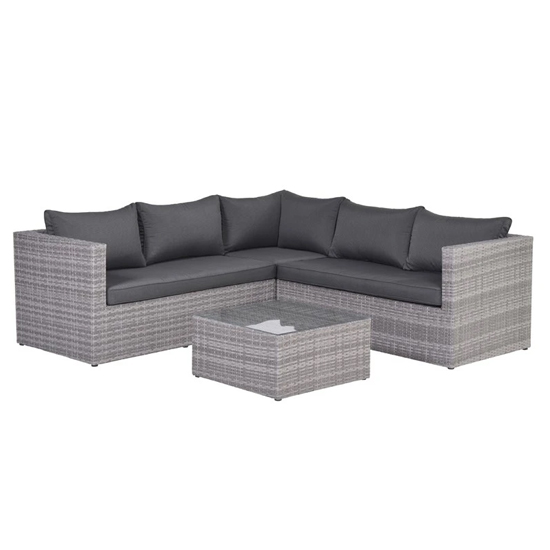 Montella Corner Sofa Group With Coffee Table In Organic Grey_2