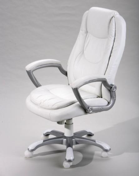 Montello White Office Chair