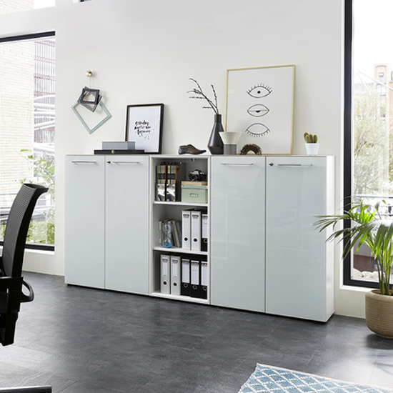 Monteria Filing Cabinet In White High Gloss_3