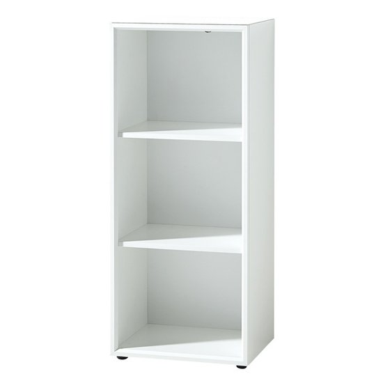 Monteria Shelving Unit In White High Gloss